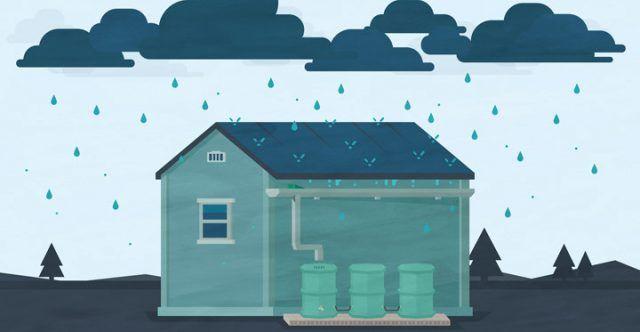 Captación de agua de lluvia (Vídeo)