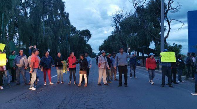 EDOMEX: Vecinos bloquean la Toluca-Tenango por falta de agua (Milenio)