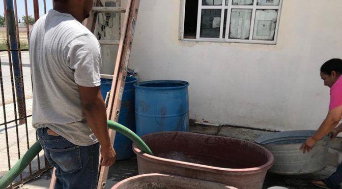 San Fernando: Solucionan Problema de desabasto de agua (Expreso)