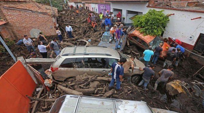 Jalisco: Emergencia por desbordamiento de río; hay personas desaparecidas (La Verdad Noticias)