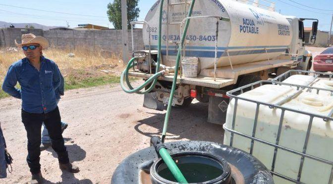 Chihuahua: Sobreviven con dos tinacos de agua (El Heraldo de Chihuahua)