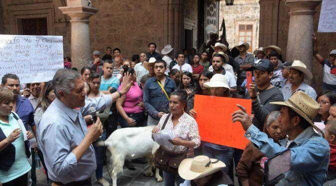 Michoacán: Ayuntamiento de Morelia dará tranquilidad a Jesús del Monte en caso del agua potable (Cambio de Michoacán)