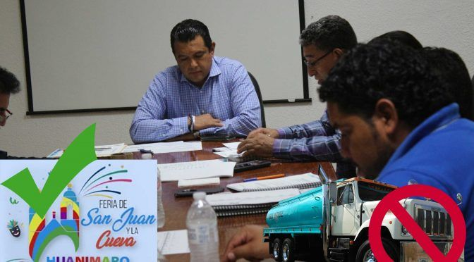 Guanjuato: prefiere Municipio invertir en la feria que en agua potable (Periodico Correo)