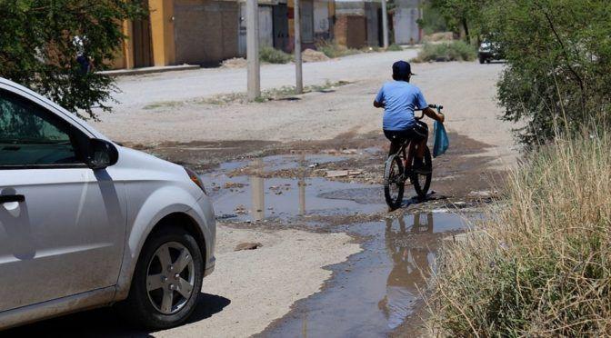 Durango: Fuga de agua persiste desde hace 1 año en Lerdo (MILENIO)
