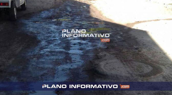 San Luis Potosí: El 50% del agua en la red se pierde por fugas (Plano Informativo)