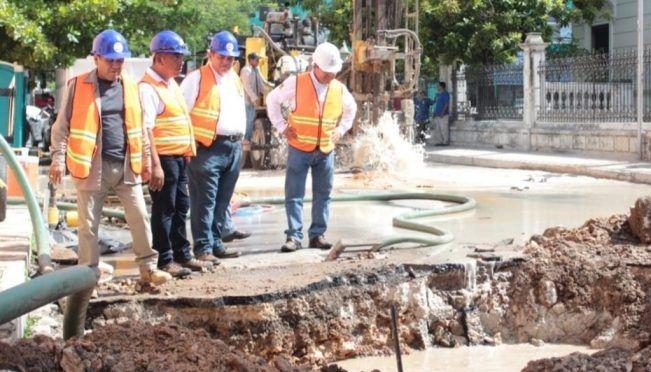 Yucatán: Se quedarán sin agua más de 100 colonias por megafuga en Mérida (El Universal)
