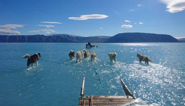 Copenhague: Así se ven los efectos del deshielo en Groenlandia (El Universal)