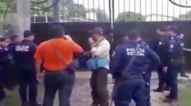 Tabasco: Por falta de agua, migrantes tratan de escapar de estación migratoria (La Silla Rota)