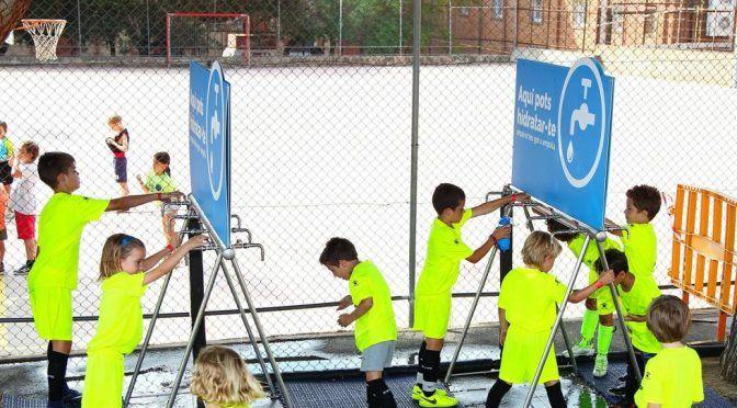 El agua, hidratación imprescindible para deportistas (Mundo Deportivo)