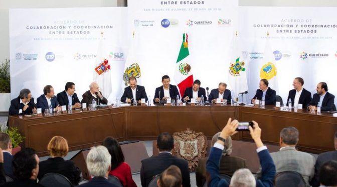 Estados de alianza Centro-Bajío van por tecnificación y ahorro de agua (Milenio)