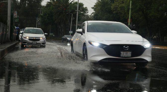 CDMX: activan alerta amarilla en 10 alcaldías, por lluvias (La Jornada)