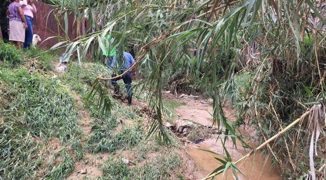 Oaxaca: Protección Civil mantiene operativo activo por lluvias (La voz de la frontera)