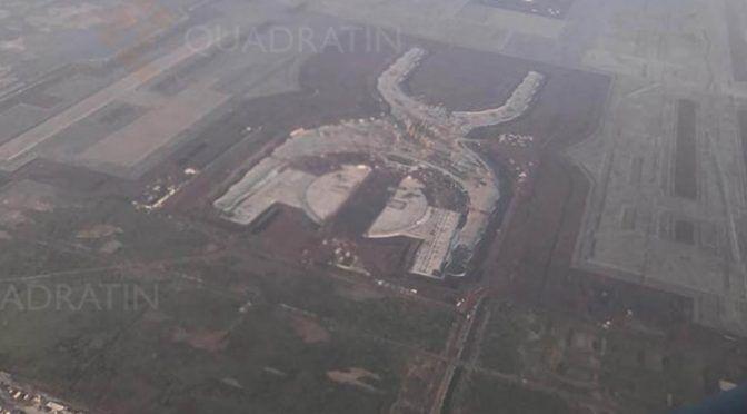 CDMX: Hundirán el Nuevo Aeropuerto Internacional en Texcoco con aguas negras (Quadratin)