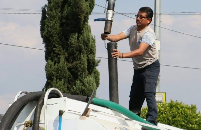 CDMX: El suroriente colapsa por falta de agua (Diario Basta)