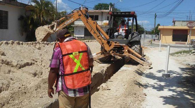 Quintana Roo: mejoran los servicios de agua potable y drenaje sanitario en Chetumal (Palco Quintanarroense)