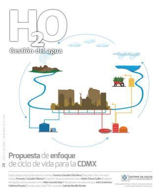 H20 Gestión del agua: Propuesta de enfoque de ciclo de vida para la CDMX