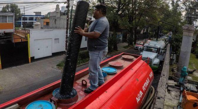 CDMX: 47 colonias se quedarán sin agua por tres días (Publimetro)