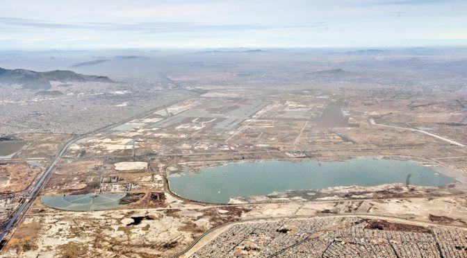 CDMX: quedarán bajo el agua 14 mil mdp del NAIM (Milenio)