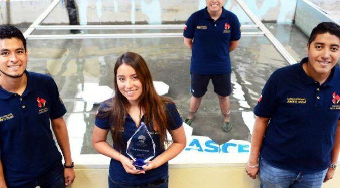"""CDMX: Estudiantes de la UNAM ganan concurso en EU con """"ciudad flotante"""" (Dinero Imagen)"""