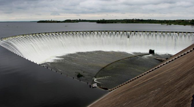 Tamaulipas: Cierran compuertas de presa ´Marte R. Gómez´ (El mañana)