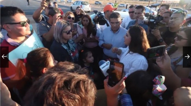 Sonora: Hermosillenses exigen agua; bloquean calles (El Imparcial)