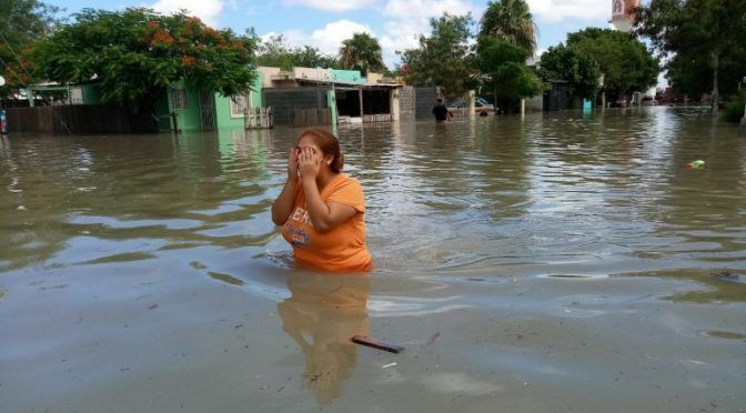 Tamaulipas: Tromba desata su furia y deja a Reynosa bajo el agua (Informador)