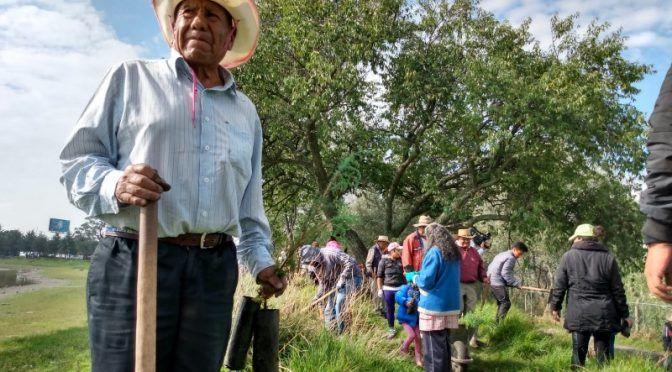 Edomex: Reverdecen Laguna de Ojuelos con forestación (meganoticias)