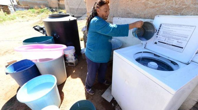 Chihuahua: Menos quejas por falta de agua, pero más por el tandeo (El Heraldo de Chihuahua)