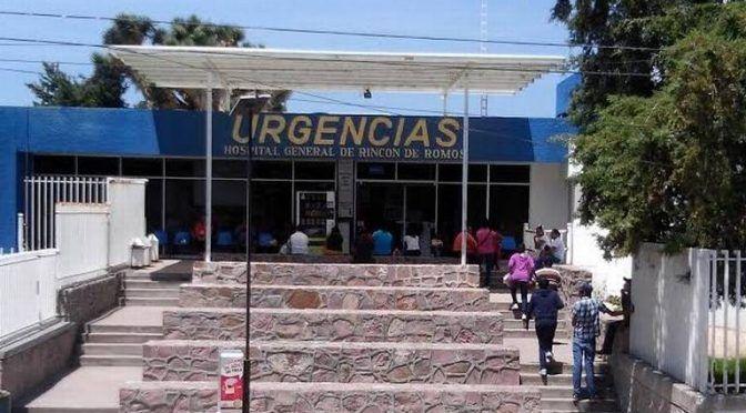 Aguascalientes: Sin agua el hospital de Rincón de Romos (El Sol del Centro)