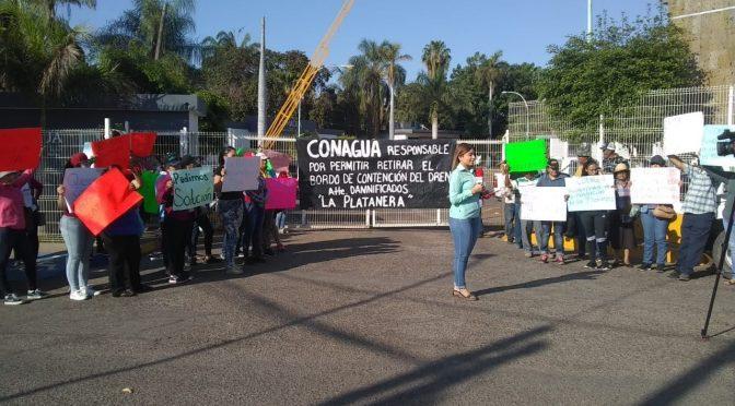 Sinaloa: victimas de inundaciones en Culiacán protestan frente a Conagua (Debate)
