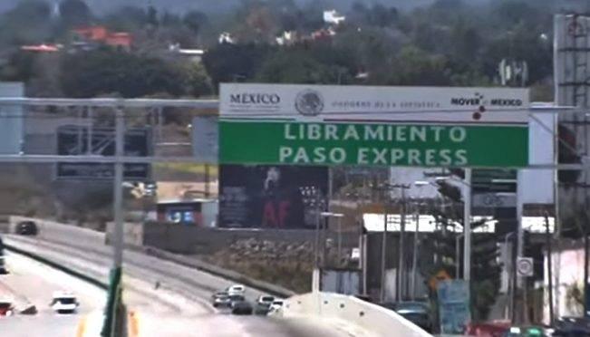 CDMX: Aclaración sobre Paso Exprés en Cuernavaca (El Universal)