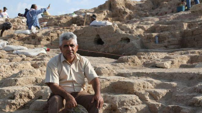 Irak: El palacio de 3.400 años que emergío de las agua (BBC Mundo)