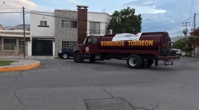 Torreón: Reparten hasta 70 mil litros de agua (El Siglo de Torreón)