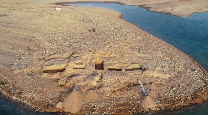Irak: La sequía revela un palacio de 3.400 años de antigüedad (cadenaser)