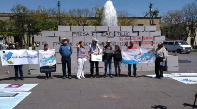 Jalisco: elevar la presa de El Zapotillo es inviable y privatiza el agua (W Radio)