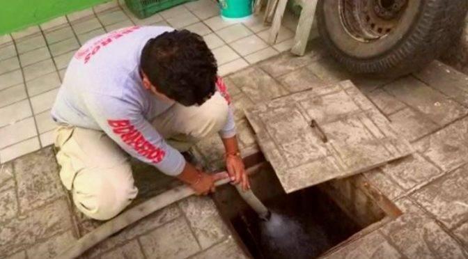 Huachicoleo de agua deja sin servicio a 78 colonias en Nayarit (UnoTV)