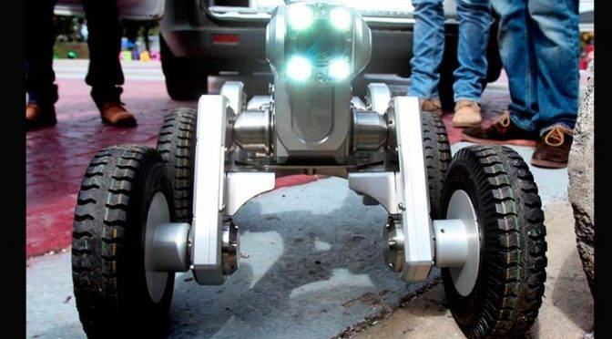 Este robot hallará socavones y fugas de agua en Edomex (UnoTV)