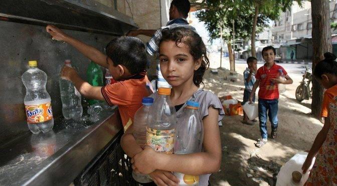 Palestina: La crisis del agua en Gaza llega a niveles peligrosos (Resumen )