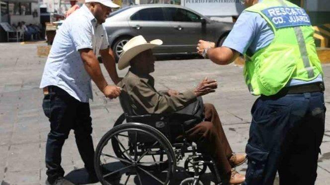 Chihuahua: Ante onda de calor, reparten agua y suero en Ciudad Juárez (Excelsior)