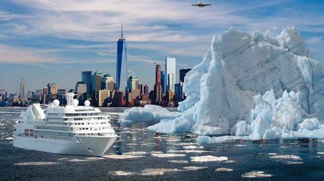 """CDMX: Millonario quiere """"remolcar"""" un iceberg para combatir sequía (Excelsior)"""