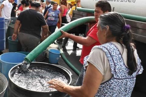 CDMX: ante riesgo de quedarse sin agua, trabajan para reusarla (Excelsior)