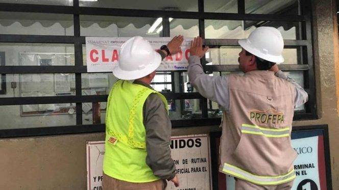 Guaymas: Profepa clausura instalaciones de Grupo México (Excelsior)