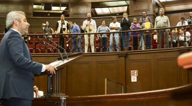 """Michoacán: Congreso exhorta a que manantial """"El Mastranto"""" sea zona de protección ecológica (Cambio)"""