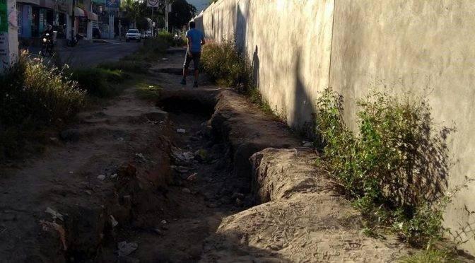 Sonora: deja lluvia zanjas de más de un metro (El Imparcial)