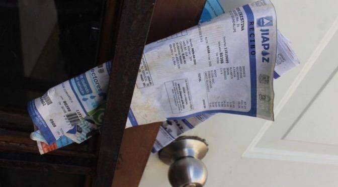 Zacatecas: Morosos deben a la JIAPAZ 13 millones de pesos (Imagen)