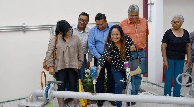 Puebla: Rehabilitación de tanque de agua en Cuatlancingo (La jornada de Oriente)