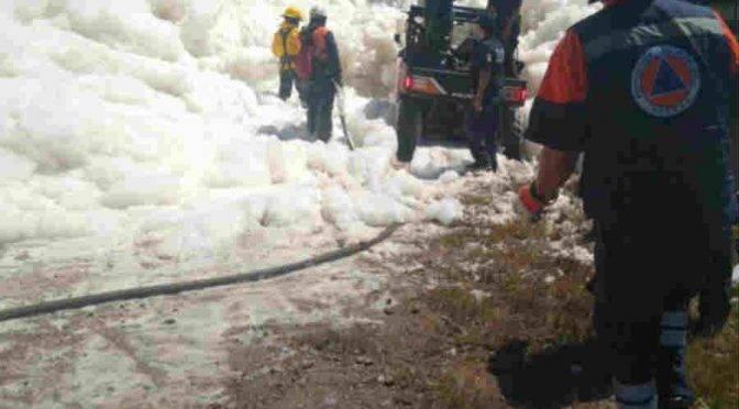 Puebla: Espuma tóxica es responsabilidad de empresa de agua: Castillo (paralelo 19)