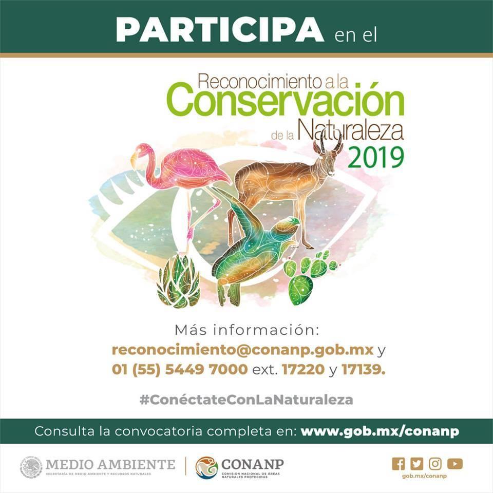 Reconocimiento a la Conservación de la Naturaleza 2019