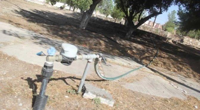 Coahuila: piden vecinos tomas de agua para la plaza (Diario de Coahuila)