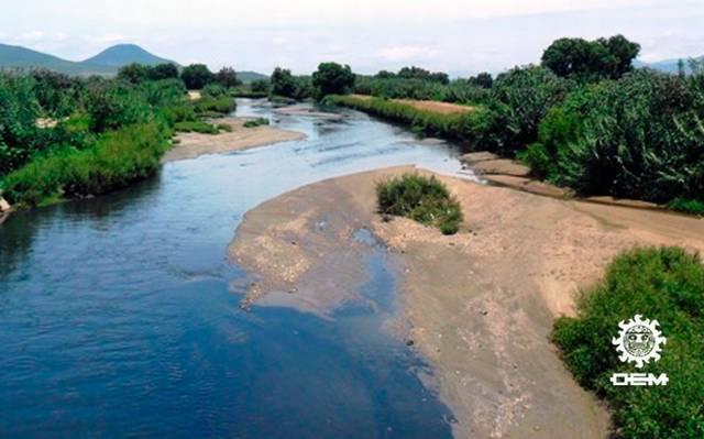 Situación del río Atoyac (infografía)